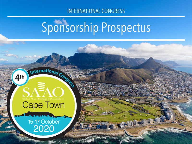 Sponsorship Prospectus for the Fourth International Congress of the SAAO